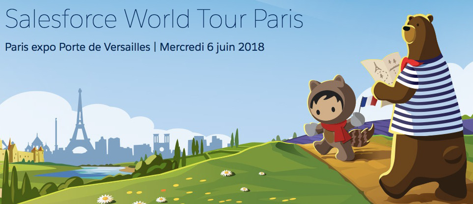 Salesforce World Tour 2018