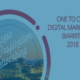 Conférence One to One digital marketing 2018